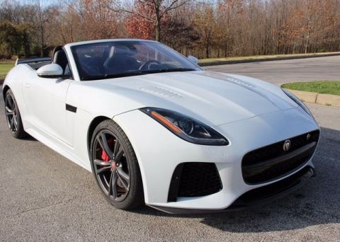 New 2017 Jaguar F-TYPE SVR AWD