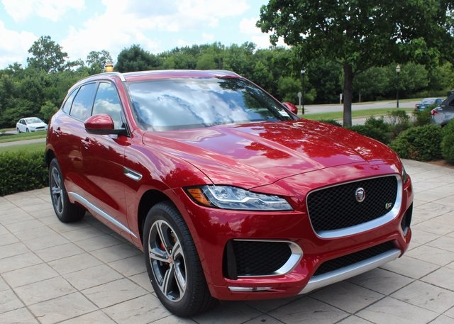 New 2018 Jaguar F Pace S