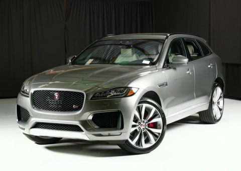 New 2019 Jaguar F-PACE 35t S